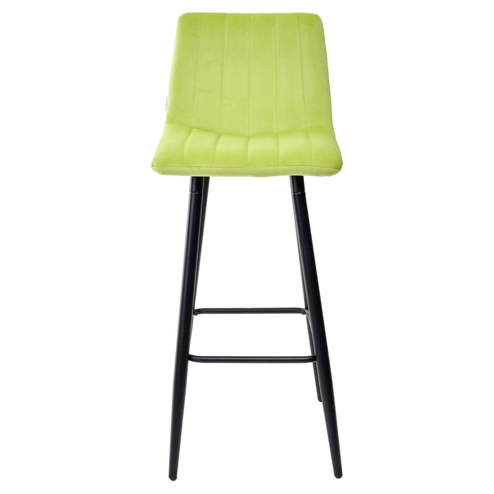 Барный стул, салатовый, на металлическом каркасе (арт. М3535)