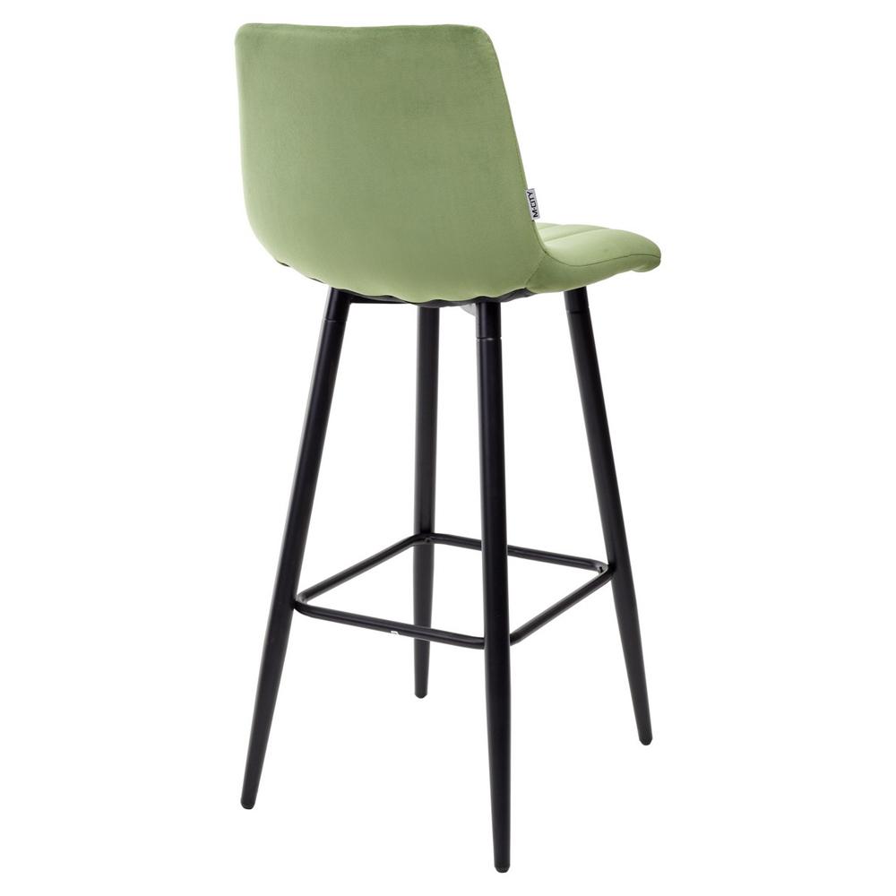 Мягкий барный стул со спинкой (арт. М3537)