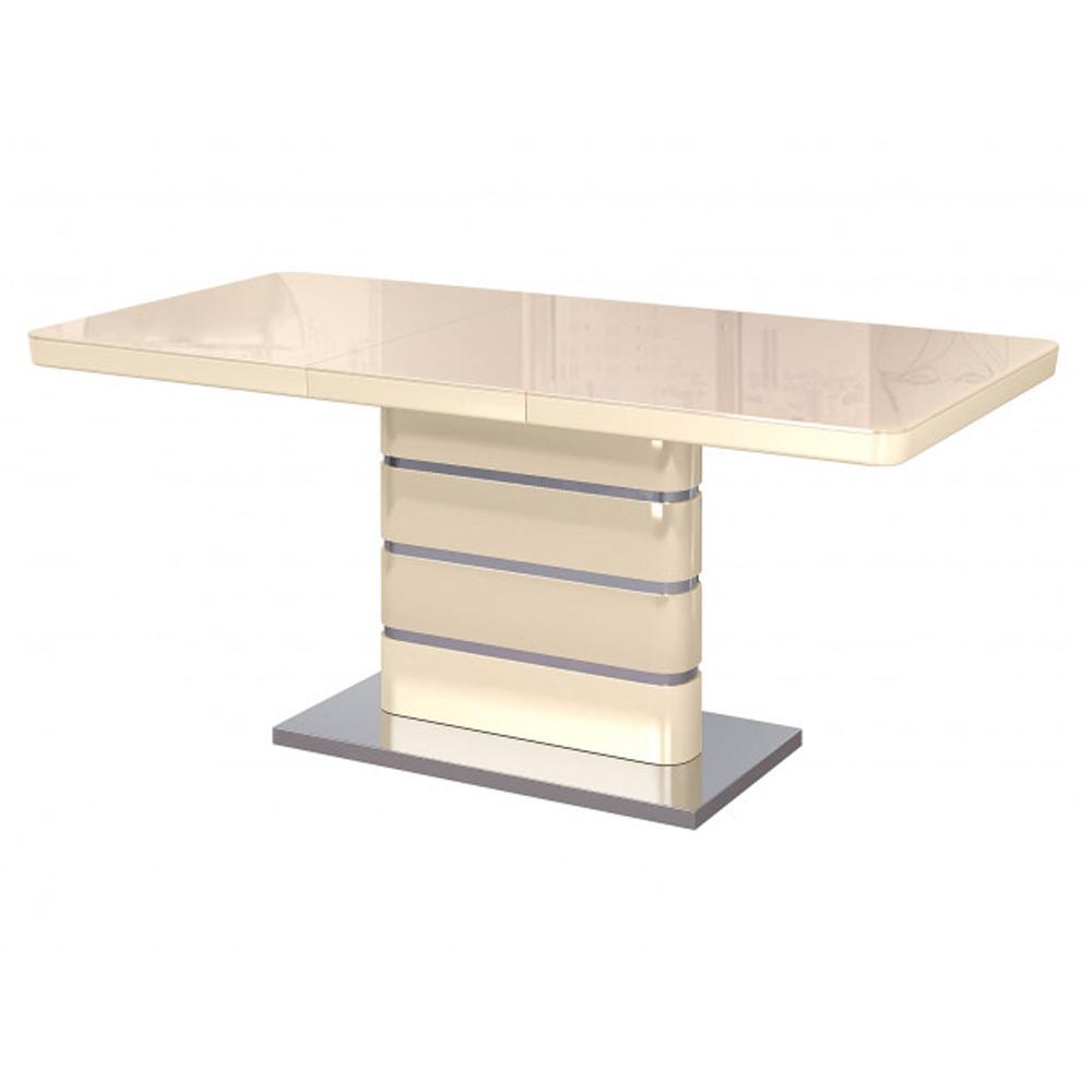 Обеденный стол, глянец бежевый (арт. М4468)