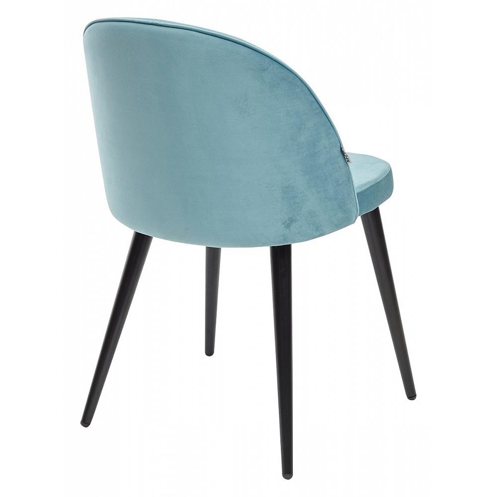 Бирюзовый стул для кухни, велюр (арт. М3456)