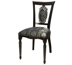 Черный деревянный стул с-11 м3341