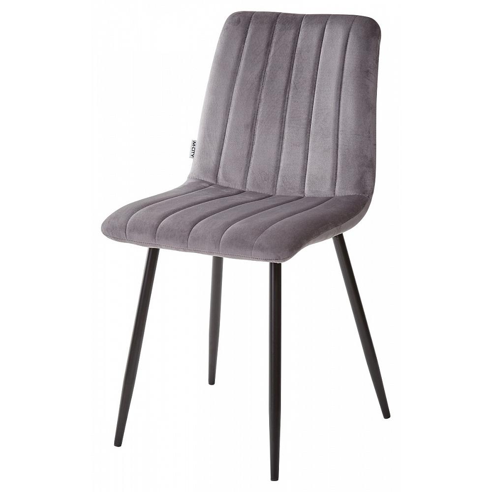 Красивый стул для кухни, цвет серый (арт. М3464)