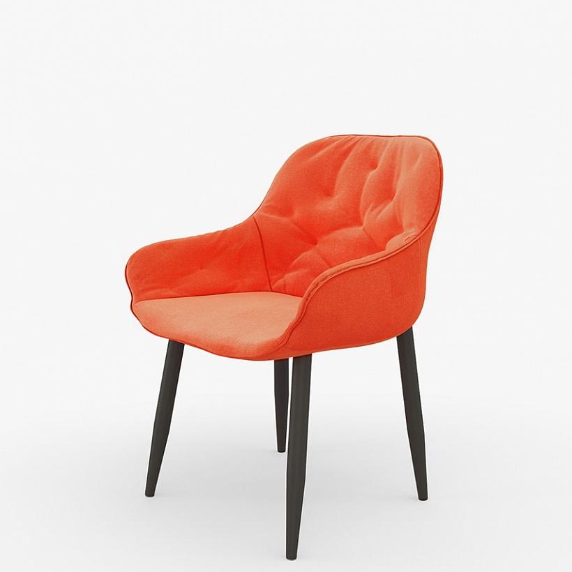 Интерьерный красный стул для кухни (арт. М3405)