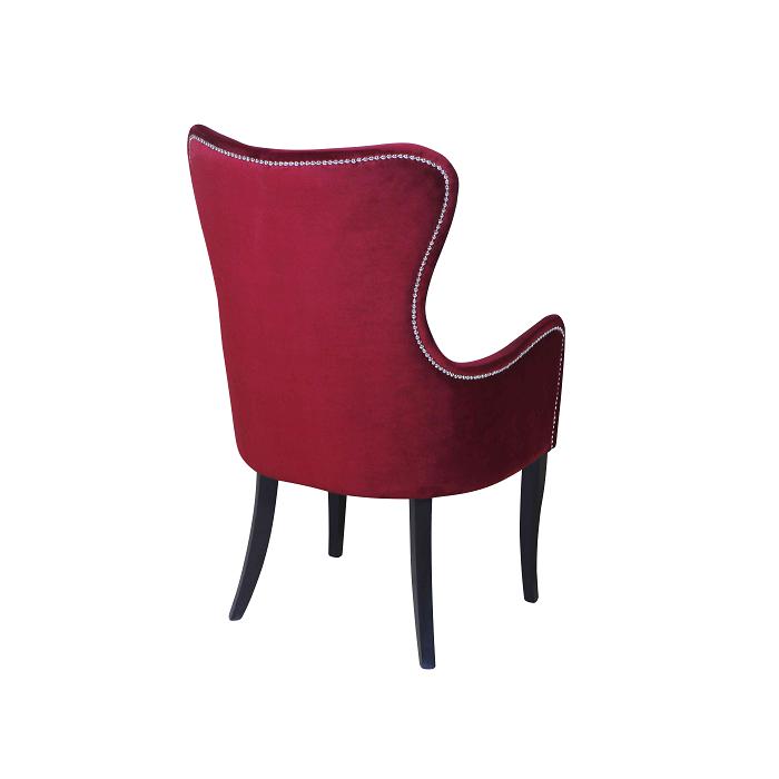 Бордовое кресло (арт. М3448)