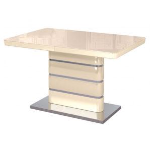 Кухонный стол Альфа Крем глянец М4468