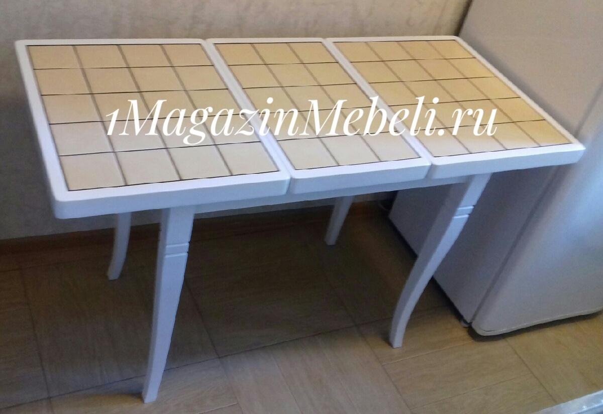 Маленький стол для кухни 87х56 см. (арт. М4389)