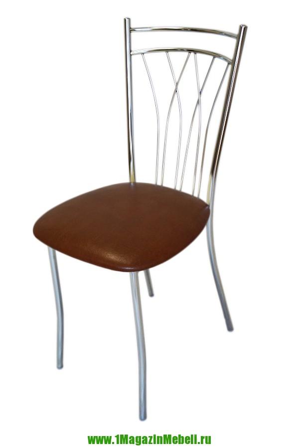 Металлический хромированный стул для кухни, фундук (арт. М3180)