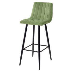 Мягкий барный стул со спинкой М3537