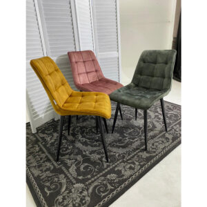 Мягкий стул горчичного цвета М3522