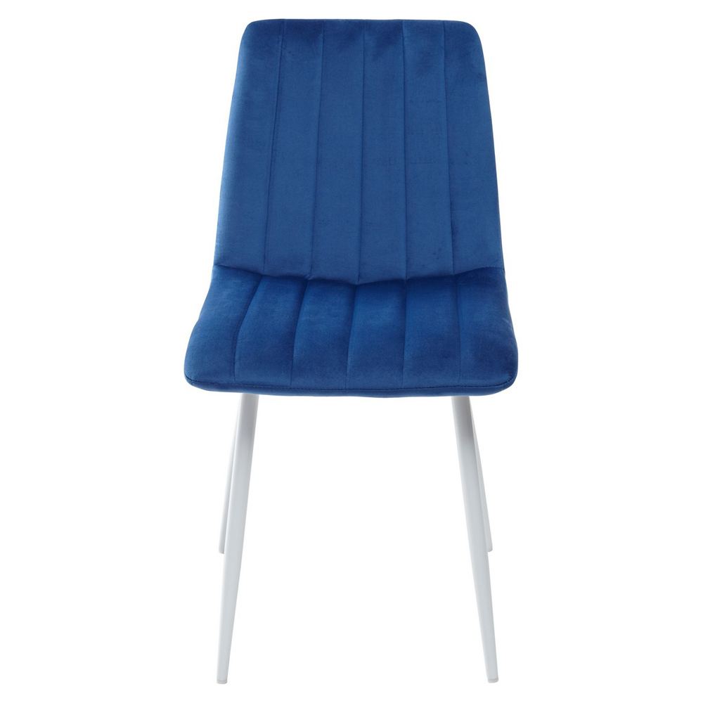 Мягкий стул синего цвета (арт. М3532)