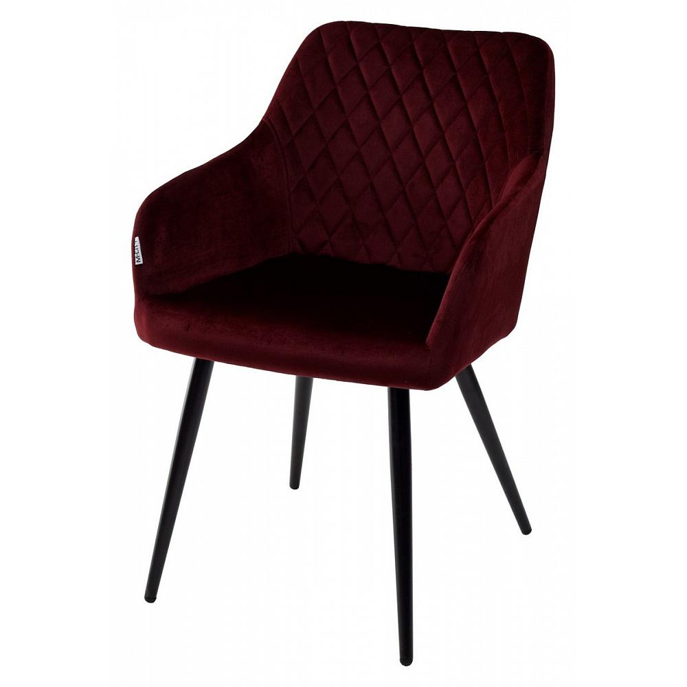 Мягкое кресло для кухни, цвет бордо (арт. М3457)