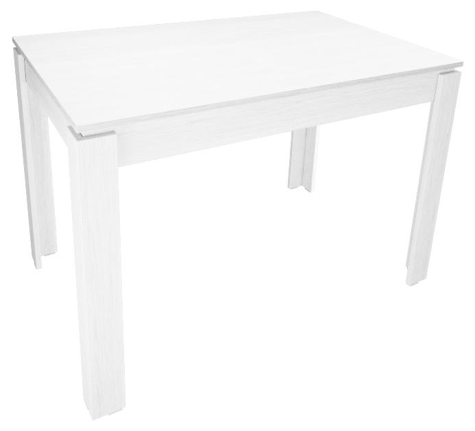 Обеденный стол недорого, белый, нераздвижной 110 см. (арт. М4374)