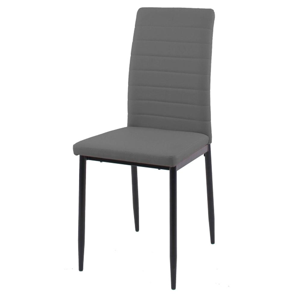 Недорогой металлический стул с мягким сиденьем (арт. М3586)