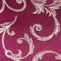 Банкетка венге ткань бордо классическая из бука 80х40 см. (арт. М2073)