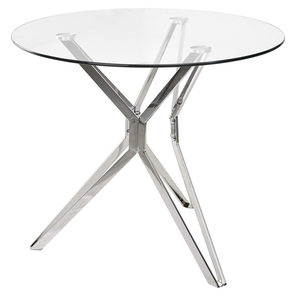 Прозрачный обеденный стол RIGA (арт. М4477)