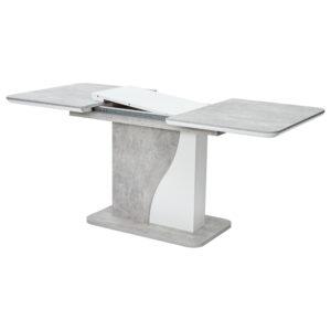Раздвижной прямоугольный стол но одной опоре М4490