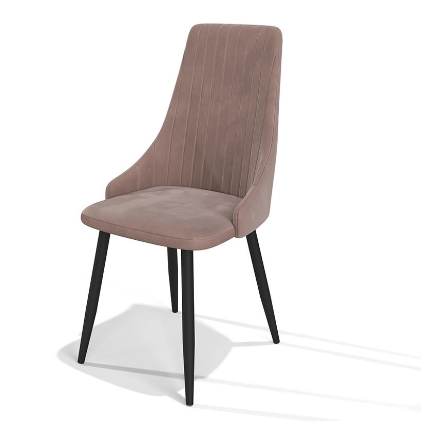 Светло-коричневый мягкий стул с удобной посадкой (арт. М3395)