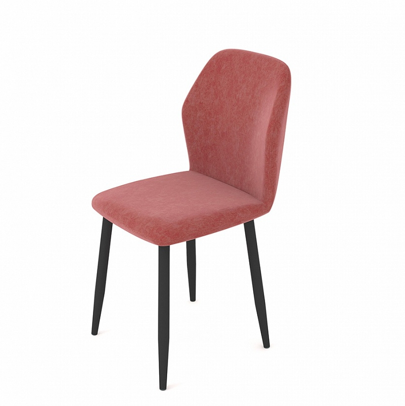 Мягкий стул для кухни цвет пыльная роза (арт. М3383)