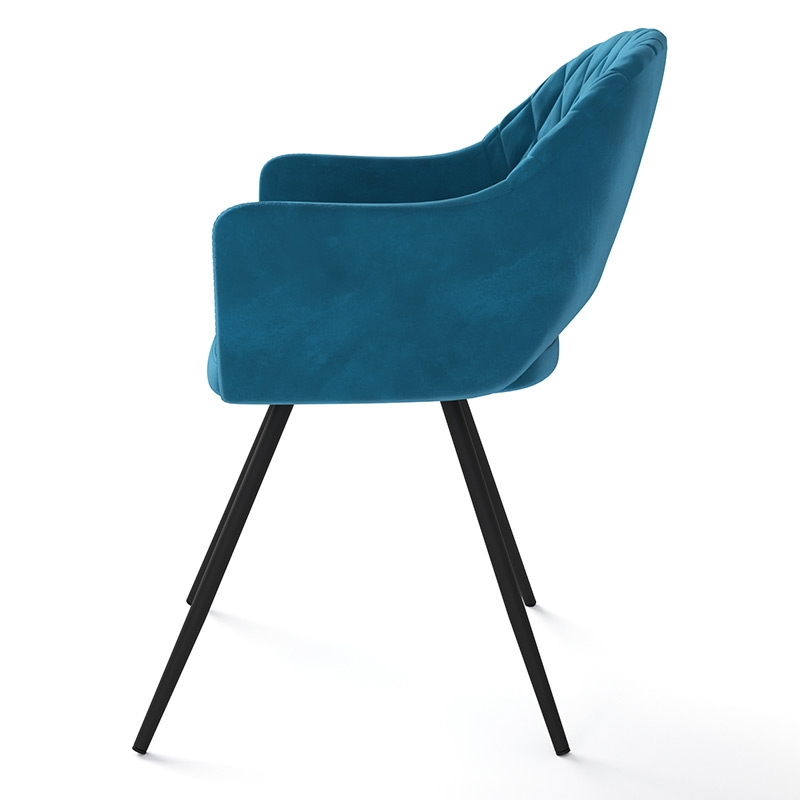 Современный стул для кухни Жаклин велюр (арт. М3378)