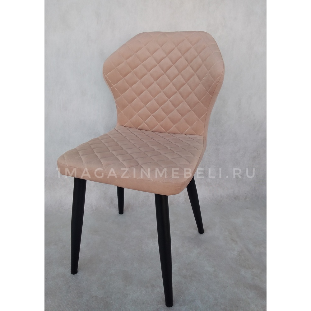 Мягкий стул с черными ножками (арт. М3494)