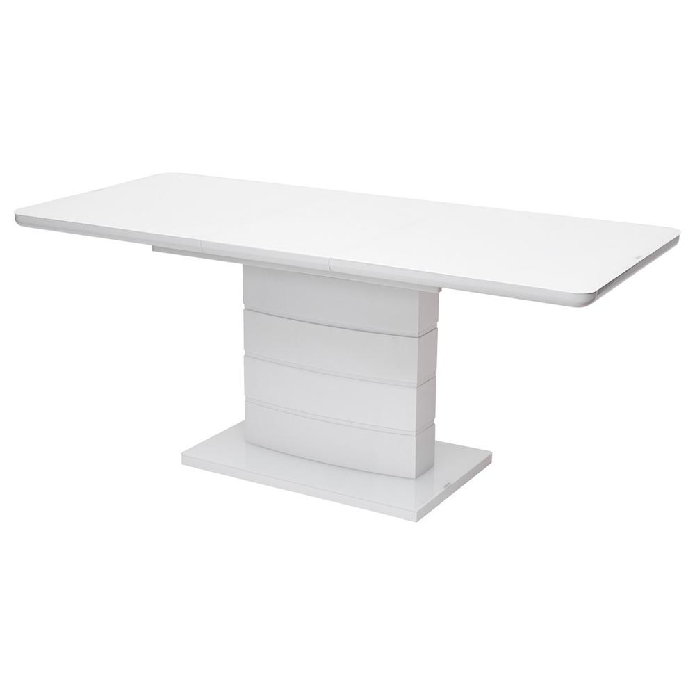 Стол ALTA, стекло белое глянцевое (арт. М4530)