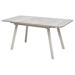 Стол ARUBA 140 CAPPUCСINO CAPPUCСINO глянцевое стекло М4506