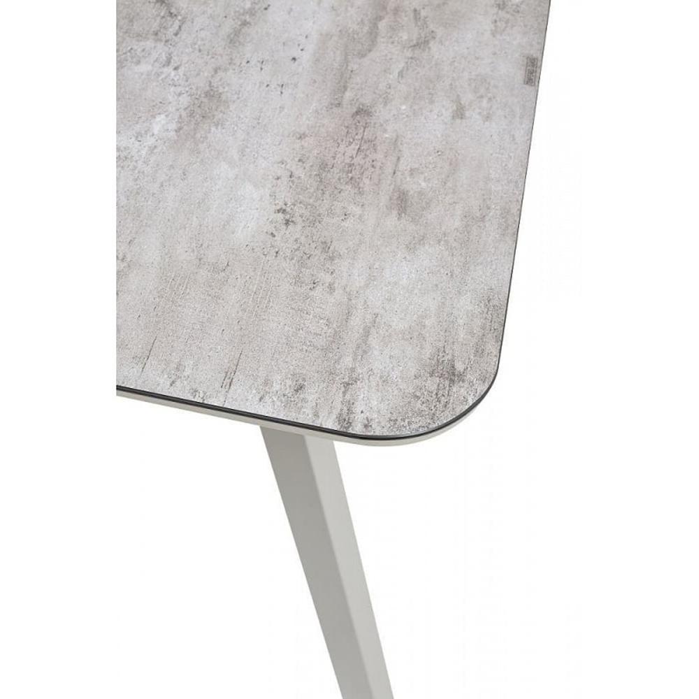 Стеклянный обеденный стол капучино 140х80 см. (арт. М4506)