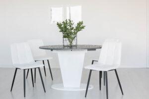 Стол COSMO 120 ML White ламинированный