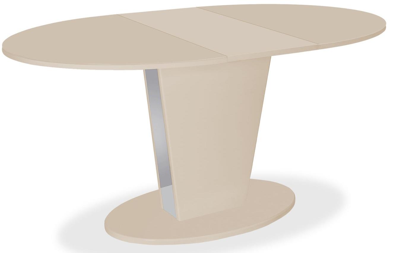 Стол Cosmo 120 Latte / Latte стеклянный раздвижной (арт. М4512)