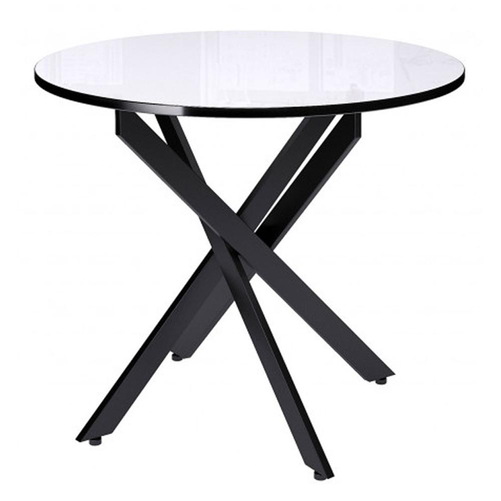 Кухонный круглый стол с перекрестными ножками (арт. М4497)