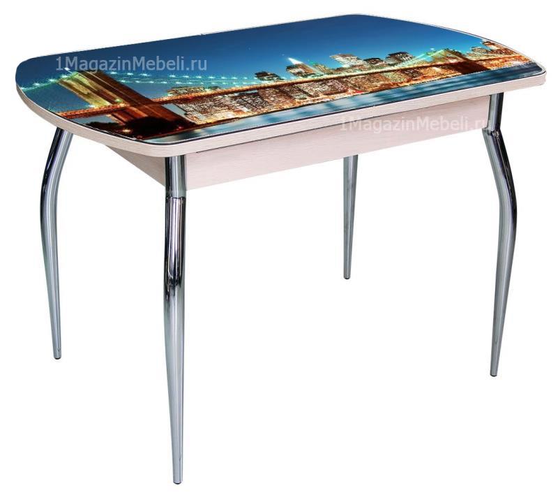 Стол 110х70 нераздвижной с фотопечатью (арт. М4394)