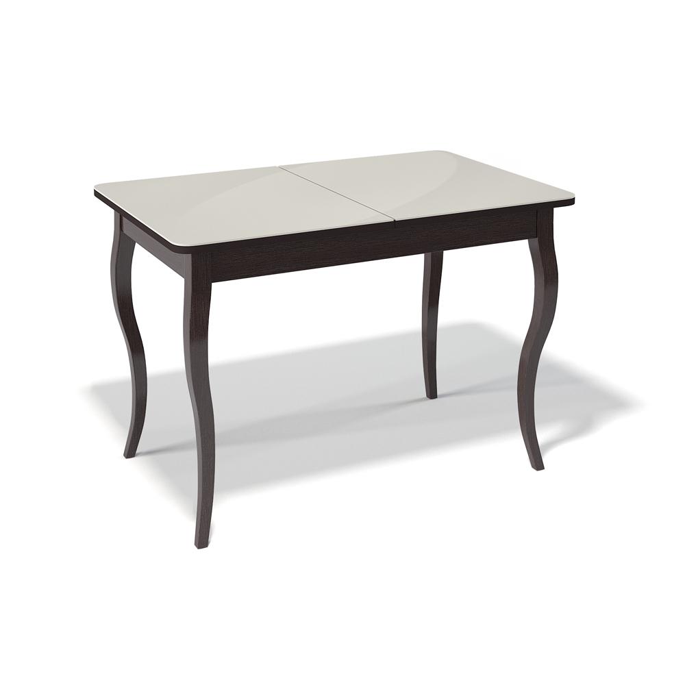 Кухонный стол, прямоугольный, со стеклянной столешницей (арт. М4474)