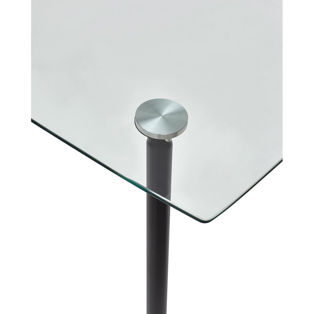 Стол прозрачный прямоугольный RON 120 см. (арт. М4479)