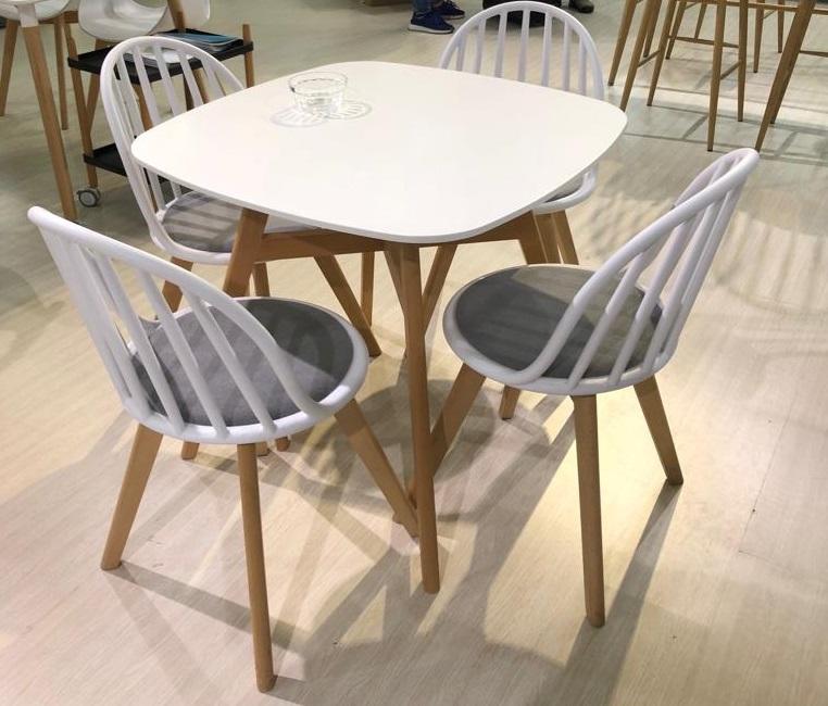 Стол кухонный квадратный 80 см. (арт. М4455)