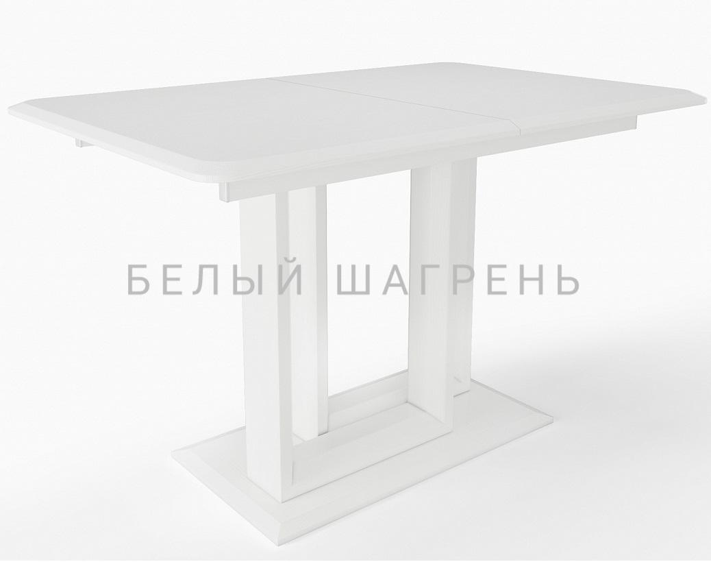 Стол обеденный раздвижной белый, в современном стиле (арт. М4438)