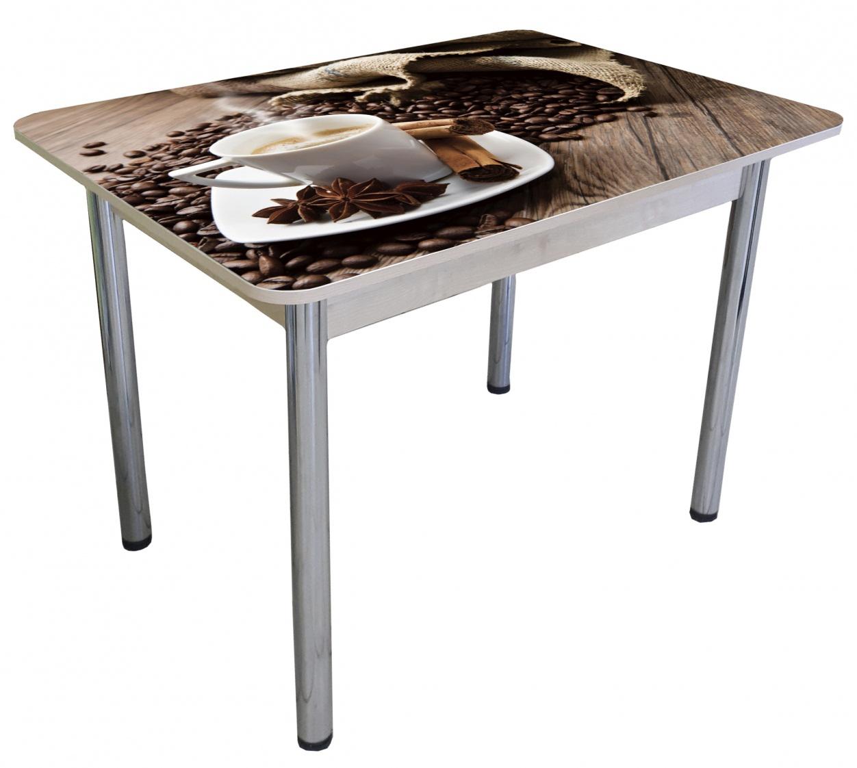 Стол не раздвижной с фотопечатью 100х70 (арт. М4392)