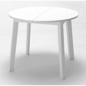 Стол круглый раздвижной белый М4534