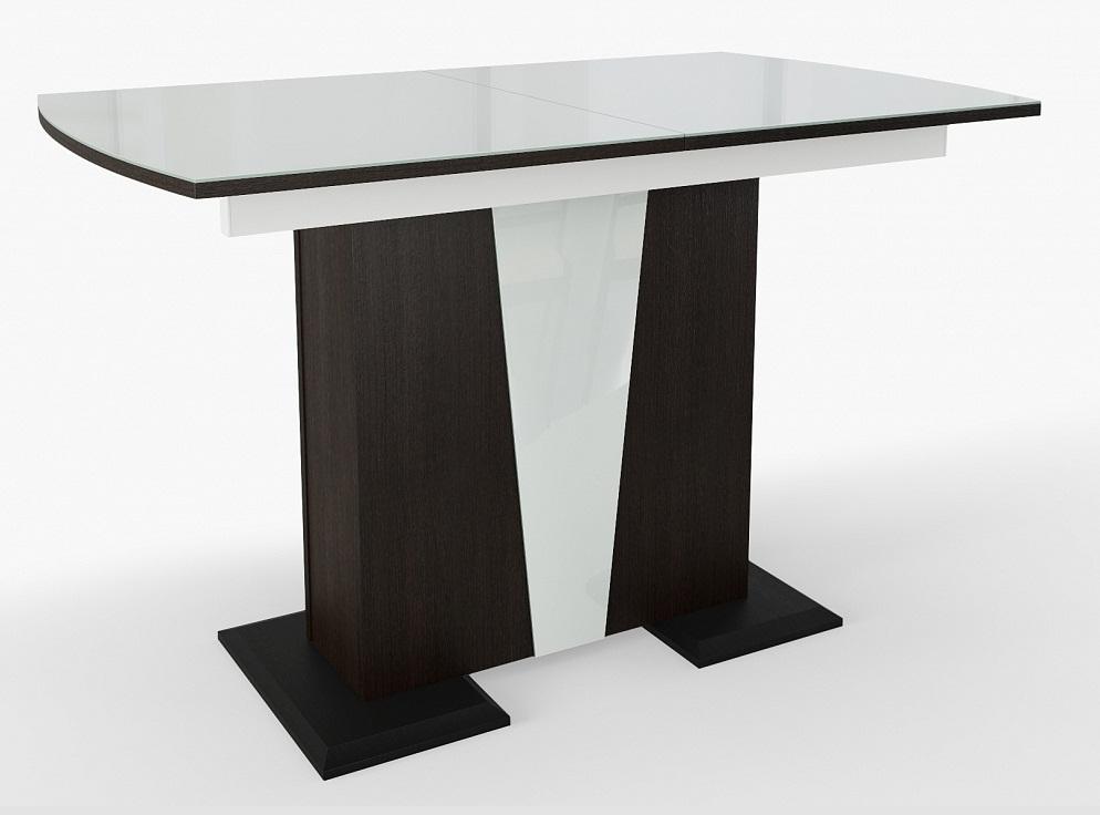 Белый стол на одной ножке (арт. М4445)