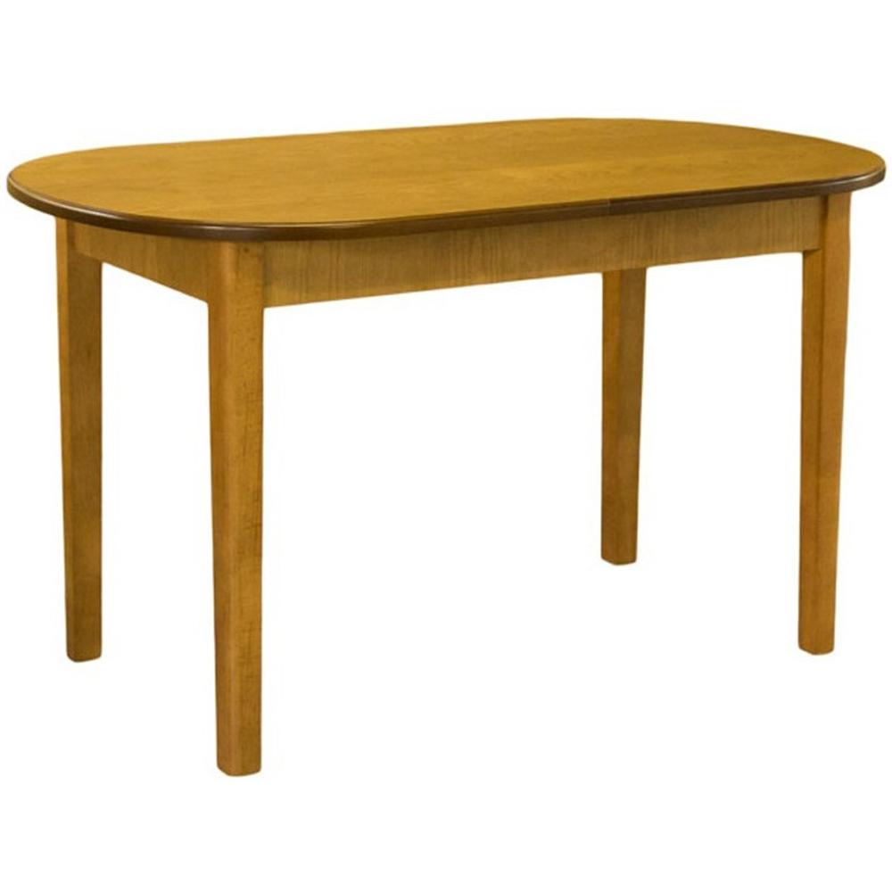 Деревянный обеденный стол, раздвижной, цвет орех (арт. М4543)