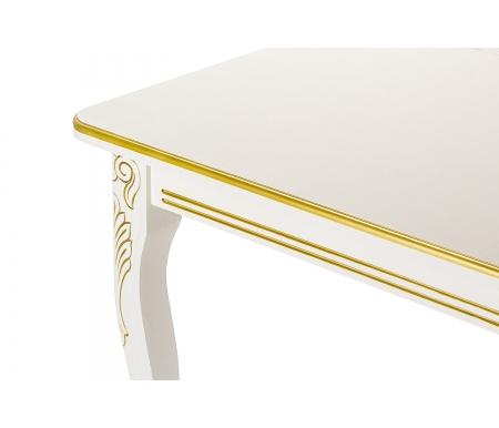 Стол Каллисто с золотой патиной (арт. М4402)