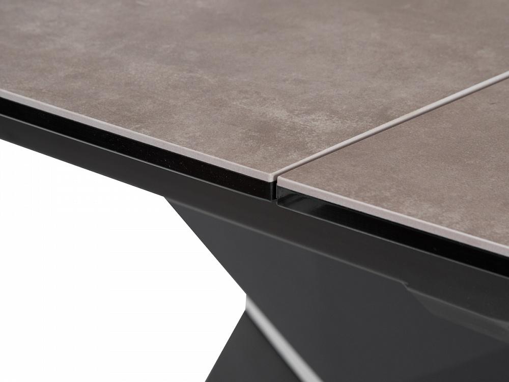 Стол керамический SEVERIN 150 см. VOLCANO CENIZA — вулканический пепел (арт. М4458)