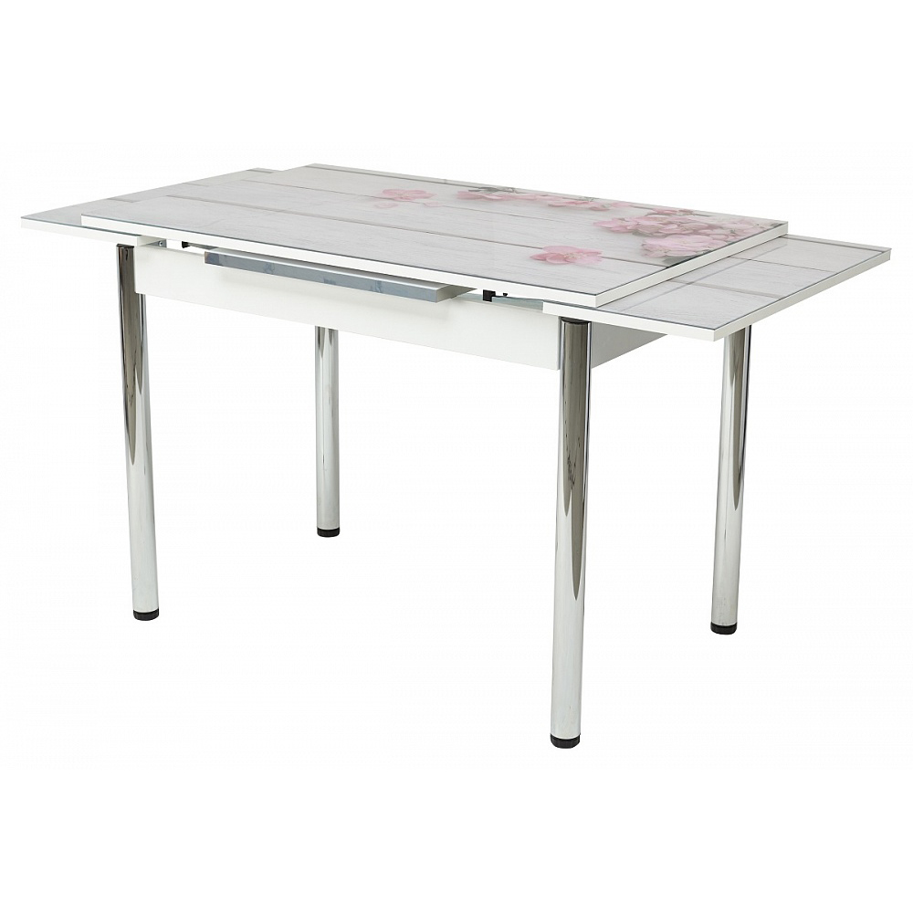 Стол с фотопечатью раздвижной 110х70 (арт. М4462)