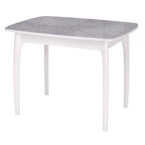 Стол серый мрамор М4541