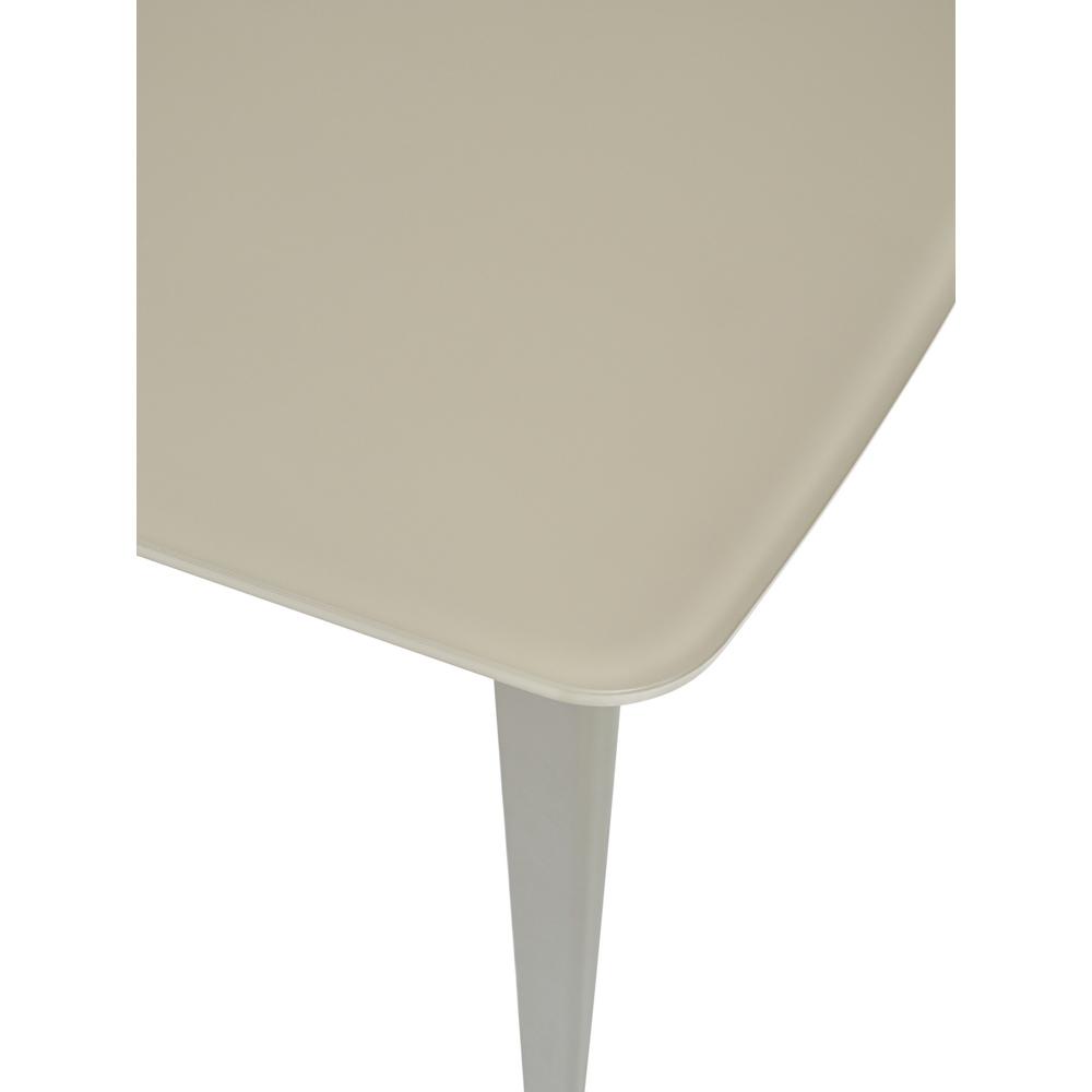 Стол обеденный, стекло бежевое, матовое, 120х80 см. (арт. М4487)