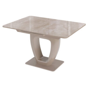 Стол стекло капучино М4499