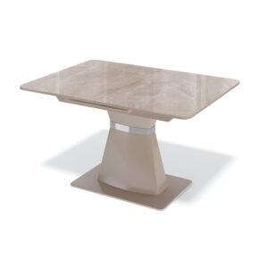 Стол стеклянный капучино М4503