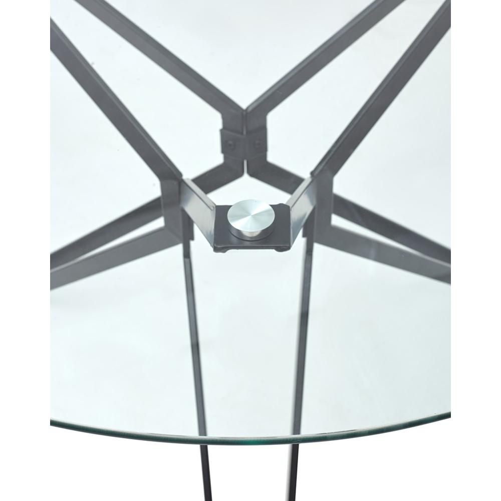 Стол VENETO, круглый 110 см., стеклянный, нераздвижной (арт. М4478)