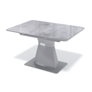 Стол стеклянный серый М4504