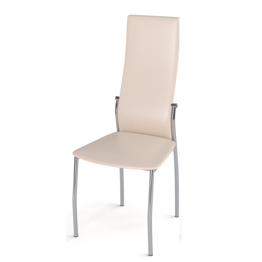Бежевый стул с удобной спинкой (арт. М3552)