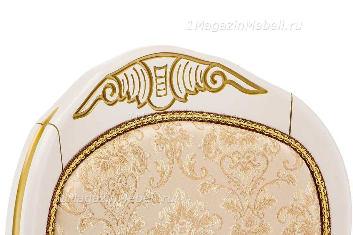 Стул Лауро патина золото бежевый (арт. М3363)